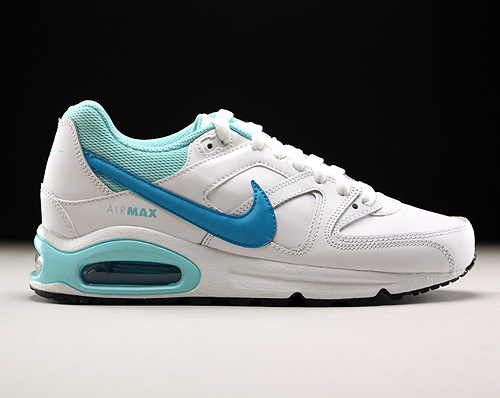 Nike Air Max Command Leather GS wit lichtblauw Purchaze