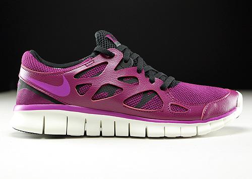 9521b162f2f1 Nike WMNS Free Run 2 EXT violet paars zwart crème