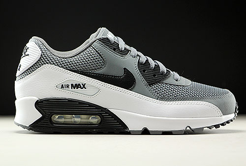 low priced 41e2d 1904a Nike Air Max 90 Essential grijs zwart wit 537384-057