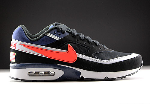 nike air max classic rood wit
