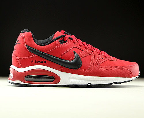 Nike Air Max Command Leather rood zwart wit Purchaze