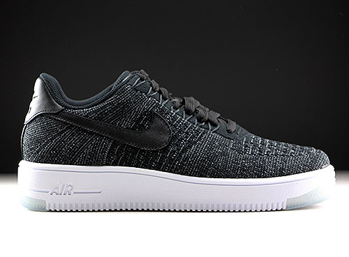 Nike WMNS Air Force 1 Flyknit Low zwart wit - Purchaze