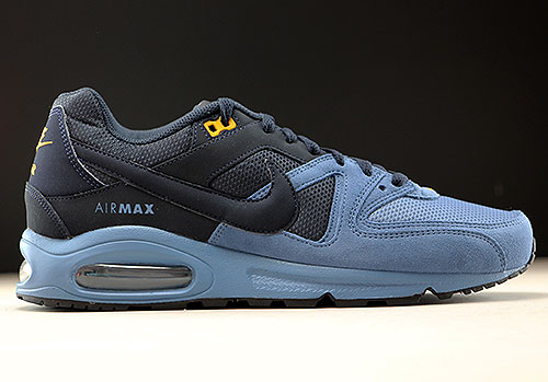best authentic a4c5a d7e72 Nike Air Max Command donkerblauw staalblauw oranje 629993-403