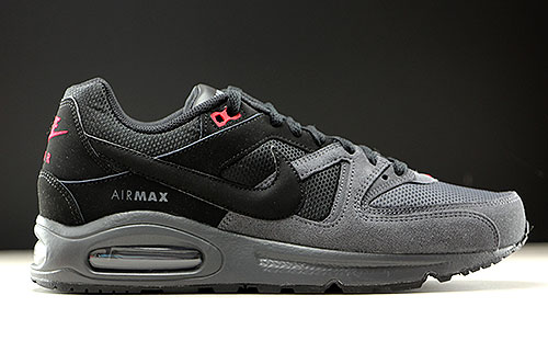 nike air max command zwart/wit