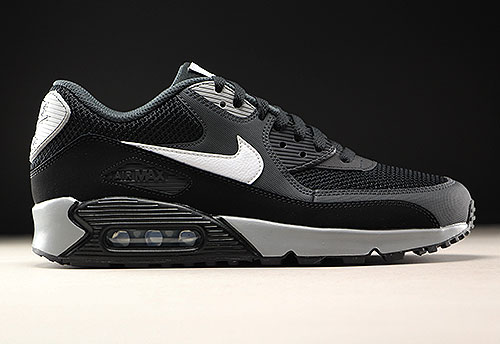 c4256415489 Nike Air Max 90 Essential zwart wit antraciet 537384-063