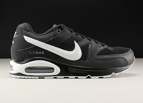 Nike Air Max Command zwart wit donkergrijs 629993-032