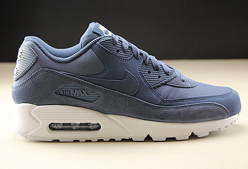 Nike Air Max 90 Essential Blauw Wit Purchaze