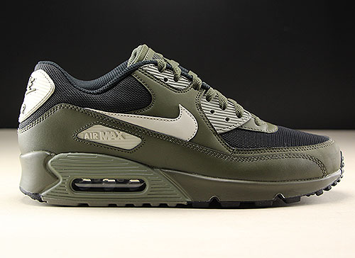 detailed pictures 98f93 ab67c Nike Air Max 90 Essential Olijf Khaki Zwart 537384-309