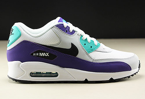 Nike Air Max 90 Essential White Black Hyper Jade AJ1285 103