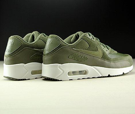 Nike Air Max 90 Premium SE army green black Men running