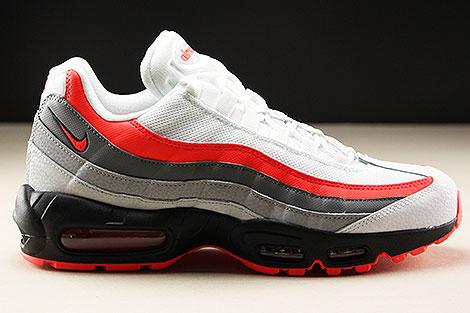 Nike Air Max 95 Essential Wit Rood Zwart Grijs Purchaze