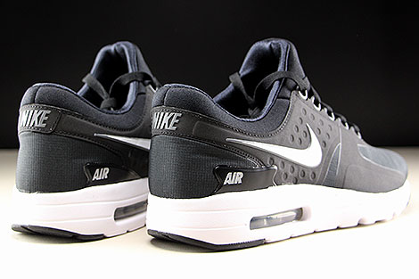 Nike Air Max Zero Essential Zwart Wit Donkergrijs Purchaze