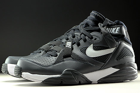 Nike Air Trainer Max 91 Anthracite Pure Platinum Black Seitenansicht