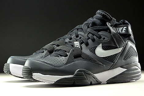Nike Air Trainer Max 91 Anthracite Pure Platinum Black Seitendetail