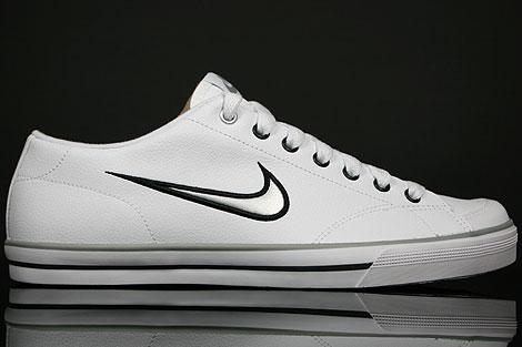 Nike Capri SI White Metallic Silver Black 314951 103 Purchaze