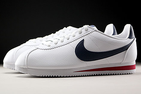 nike classic cortez rood