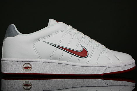 Nike Court Tradition 2 White Varsity Red