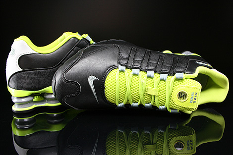 7d3514d70b3 Nike Shox Black And Lime Green extreme-hosting.co.uk