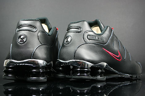 Nike Shox Nz Sneaker Schwarz Rot