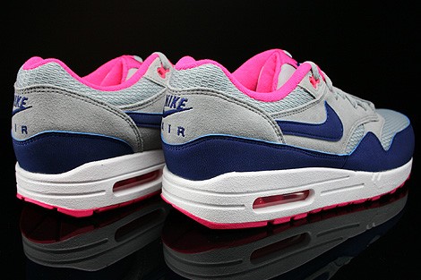 nike dames air max 1 royal blue