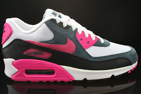 Nike Air Max 90 White Black Pink