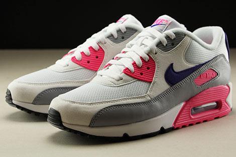 Nike WMNS Air Max 90 Wit Grijs Paars Roze Purchaze
