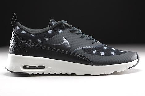 ... nike air max 1 sneakers / schoenen - black/dark grey-anthracite ...