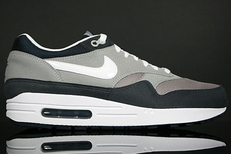 Nike Air Max 1 Grey White Obsidian Right