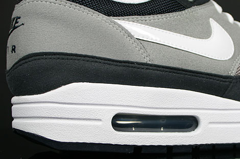 Nike Air Max 1 Grey White Obsidian Over view