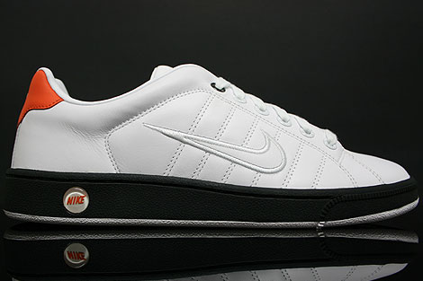 Nike Court Tradition 2 White Black Orange