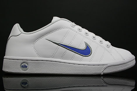 Nike Court Tradition 2 White Blue Silver