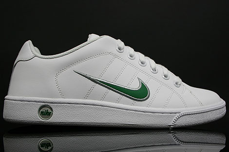 Nike Court Tradition 2 White Green Silver