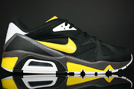 Nike Air Structure Triax 91 Black Varsity Maize White Fog