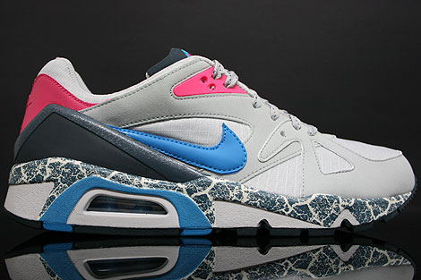 Nike Air Structure Triax 91 Grey Turquoise-Pink