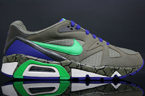 Nike Air Structure Triax 91 Olive Green Purple