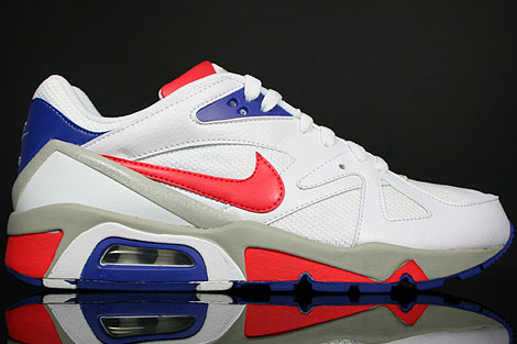 Nike Air Structure Triax 91 White Red Hyper Blue Granite