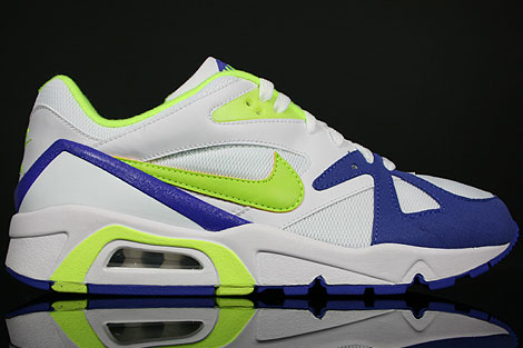 Nike WMNS Air Structure Triax 91 White Volt Persian Violet